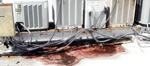 hvac-stands-commercial-roof-leaks-repairs