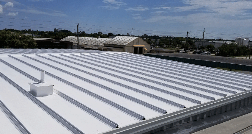 Commercial Roof Coatings Flat Roof Coating Roof