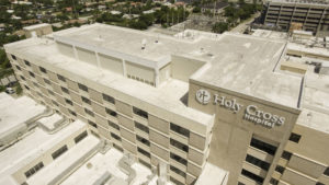 holy cross hospital re-roof fort lauderdale